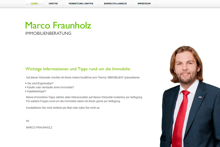 Immobilien-Website CMS-System
