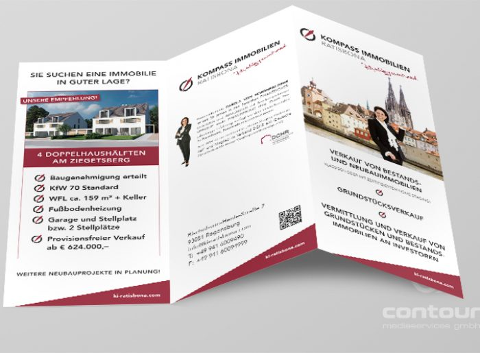 Flyer Homestaging Kompass Immobilien